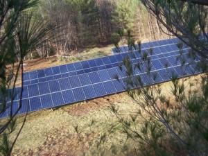 PVF solar grid
